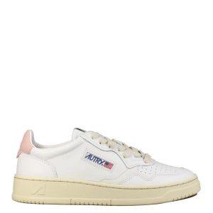 Autry - Sneakers en cuir Rose et Blanche