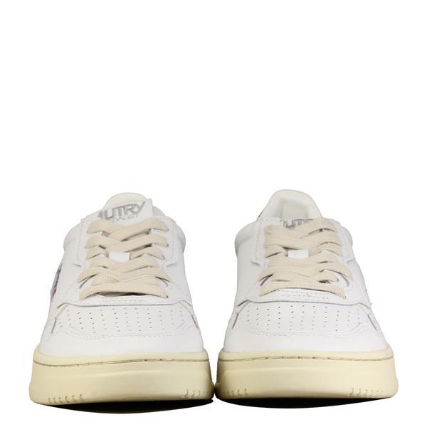 Autry - Sneakers en cuir Vert et Blanche