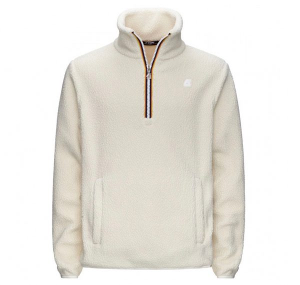 KWAY - Pull polaire blanc