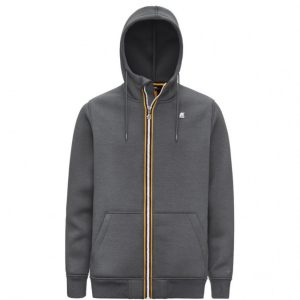 KWAY - Sweat zippé gris